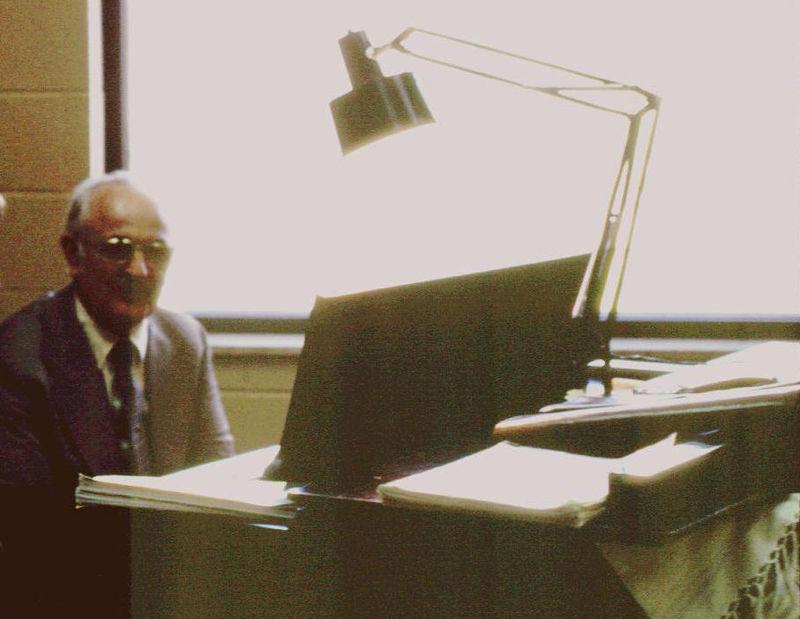 Mr B at the Piano