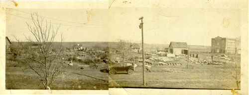 Tornado Aftermath 1920s